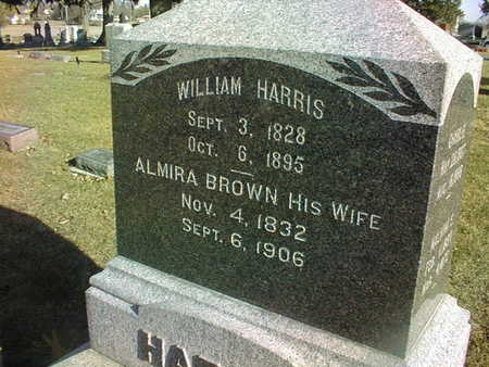 HARRIS, WILLIAM - Muscatine County, Iowa | WILLIAM HARRIS