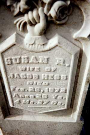 HESS, SUSAN R. - Muscatine County, Iowa | SUSAN R. HESS