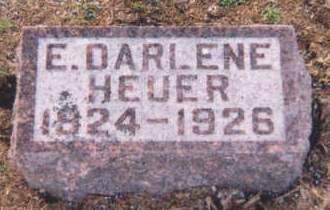 HEUER, E. DARLENE - Muscatine County, Iowa | E. DARLENE HEUER