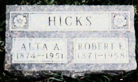 HICKS, ALTA MAY - Muscatine County, Iowa | ALTA MAY HICKS