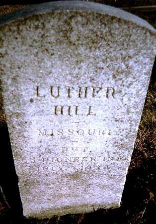 HILL, LUTHER - Muscatine County, Iowa | LUTHER HILL