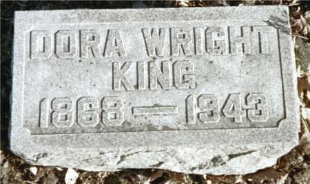 WRIGHT KING, DORA - Muscatine County, Iowa | DORA WRIGHT KING