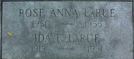 LARUE, ROSE ANNA - Muscatine County, Iowa | ROSE ANNA LARUE