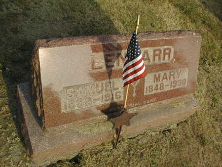 LENHARR, MARY - Muscatine County, Iowa | MARY LENHARR
