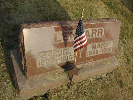 LENHARR, SAMUEL - Muscatine County, Iowa | SAMUEL LENHARR