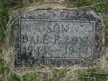 LOVE, DALE R. - Muscatine County, Iowa | DALE R. LOVE