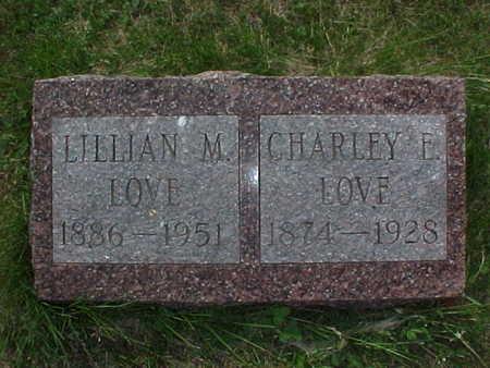 LOVE, LILLIAN M. - Muscatine County, Iowa | LILLIAN M. LOVE