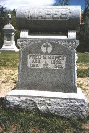 MAPES, FRED - Muscatine County, Iowa | FRED MAPES