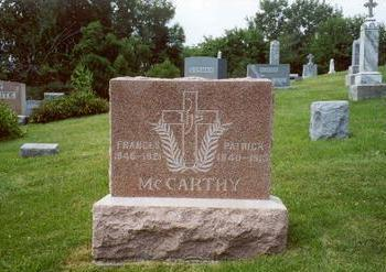 MCCARTHY, PATRICK - Muscatine County, Iowa | PATRICK MCCARTHY