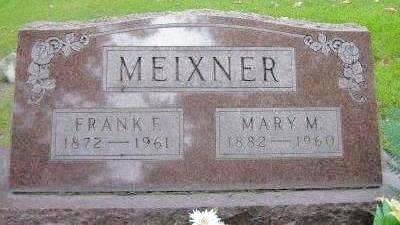 MEIXNER, MARY - Muscatine County, Iowa | MARY MEIXNER