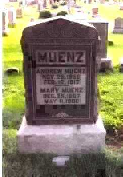 MUENZ, MARY - Muscatine County, Iowa | MARY MUENZ
