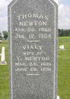 NEWTON, THOMAS - Muscatine County, Iowa | THOMAS NEWTON