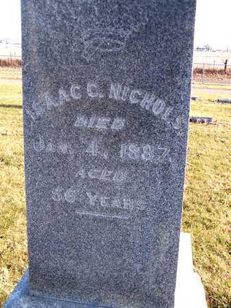 NICHOLS, ISAAC C. - Muscatine County, Iowa | ISAAC C. NICHOLS