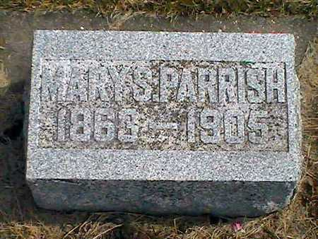 PARRISH, MARY S. - Muscatine County, Iowa | MARY S. PARRISH
