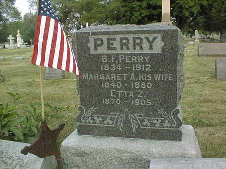 PERRY, BENJAMIN F. - Muscatine County, Iowa | BENJAMIN F. PERRY