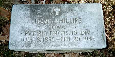 PHILLIPS, JESSE - Muscatine County, Iowa | JESSE PHILLIPS