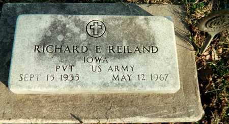 REILAND, RICHARD E. - Muscatine County, Iowa | RICHARD E. REILAND