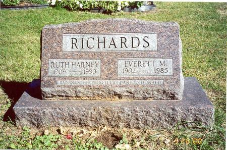 RICHARDS, RUTH - Muscatine County, Iowa | RUTH RICHARDS