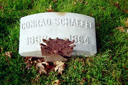 SCHAEFFER, CONRAD - Muscatine County, Iowa | CONRAD SCHAEFFER