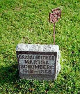 SCHOMBERG, MARTHA - Muscatine County, Iowa | MARTHA SCHOMBERG