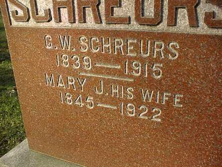 SCHREURS, G.W. - Muscatine County, Iowa | G.W. SCHREURS