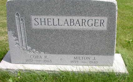 SHELLABARGER, CORA H. - Muscatine County, Iowa | CORA H. SHELLABARGER
