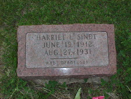 SINDT, HARRIET L. - Muscatine County, Iowa | HARRIET L. SINDT