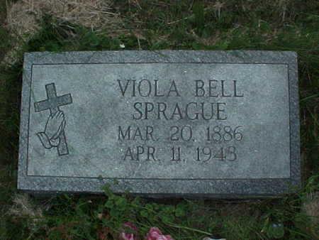 SPRAGUE, VIOLA BELL - Muscatine County, Iowa | VIOLA BELL SPRAGUE