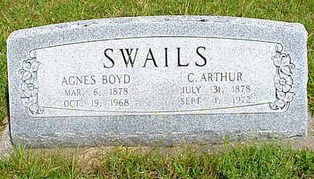 SWAILS, AGNES - Muscatine County, Iowa | AGNES SWAILS