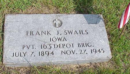 SWAILS, FRANK J. - Muscatine County, Iowa | FRANK J. SWAILS