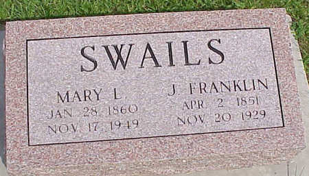 SWAILS, J. FRANKLIN - Muscatine County, Iowa | J. FRANKLIN SWAILS