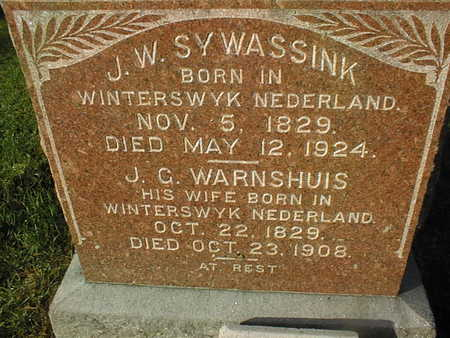 SYWASSINK, J.C. - Muscatine County, Iowa | J.C. SYWASSINK