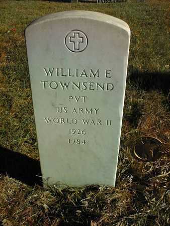TOWNSEND, PVT. WILLIAM E. - Muscatine County, Iowa | PVT. WILLIAM E. TOWNSEND