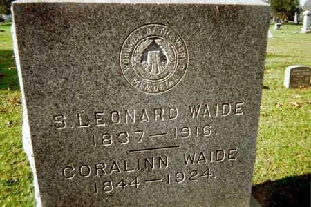 WAIDE, CORALINN - Muscatine County, Iowa | CORALINN WAIDE