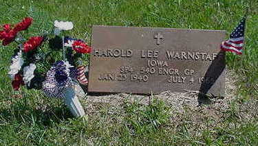 WARNSTAFF, HAROLD LEE - Muscatine County, Iowa | HAROLD LEE WARNSTAFF