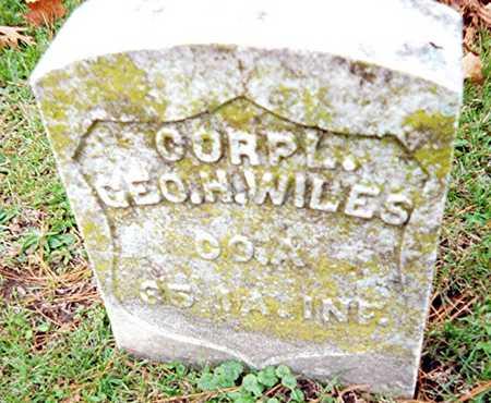 WILES, CORPL. GEO. H. - Muscatine County, Iowa | CORPL. GEO. H. WILES