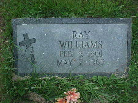 WILLIAMS, RAY - Muscatine County, Iowa | RAY WILLIAMS