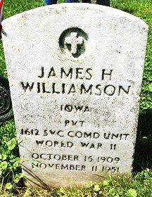 WILLIAMSON, JAMES HOWARD - Muscatine County, Iowa | JAMES HOWARD WILLIAMSON