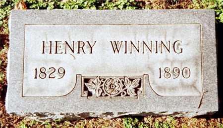 WINNING, HENRY - Muscatine County, Iowa | HENRY WINNING