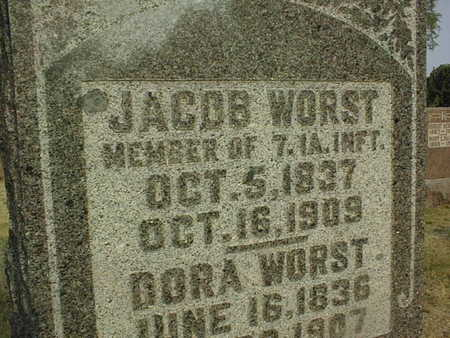 WORST, JACOB - Muscatine County, Iowa | JACOB WORST