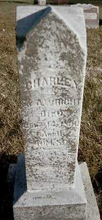 WRIGHT, CHARLEY - Muscatine County, Iowa | CHARLEY WRIGHT