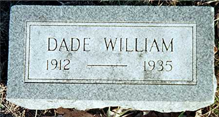 WRIGHT, DADE WILLIAM - Muscatine County, Iowa | DADE WILLIAM WRIGHT