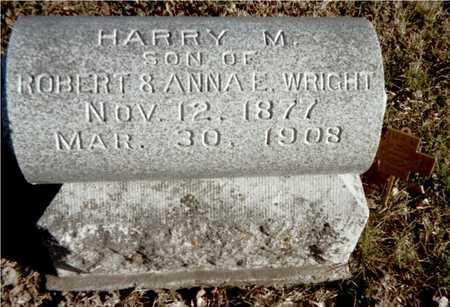 WRIGHT, HARRY M. - Muscatine County, Iowa | HARRY M. WRIGHT