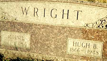 WRIGHT, HUGH B. - Muscatine County, Iowa | HUGH B. WRIGHT