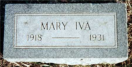 WRIGHT, MARY IVA - Muscatine County, Iowa | MARY IVA WRIGHT
