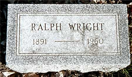 WRIGHT, RALPH - Muscatine County, Iowa | RALPH WRIGHT
