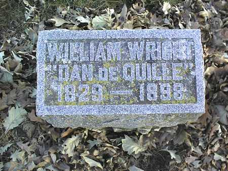 WRIGHT, WILLIAM - Muscatine County, Iowa | WILLIAM WRIGHT