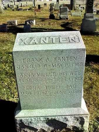 XANTEN, FRANK A. - Muscatine County, Iowa | FRANK A. XANTEN
