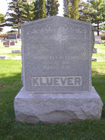 KLUEVER, MINNIE - Muscatine County, Iowa | MINNIE KLUEVER