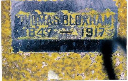 BLOXHAM, THOMAS - O'Brien County, Iowa | THOMAS BLOXHAM